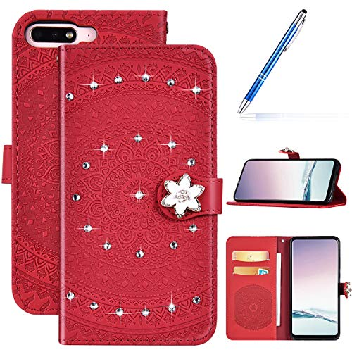 Robinsoni Case Compatible with Huawei Enjoy 8 Phone Case Wallet Compatible with Huawei Enjoy 8 Leather Phone Cover…