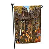 Doggie of the Day Haunted House Halloween Trick Treat Dachshunds Dog Garden Flag GFLG52925 Review