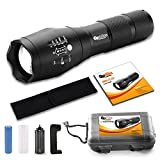 Brightest Tactical LED Flashlight - A100 High Powered - Best Reviews Guide