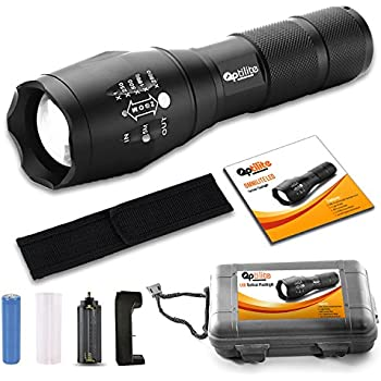 Brightest Tactical Led Flashlight A100 High Powered