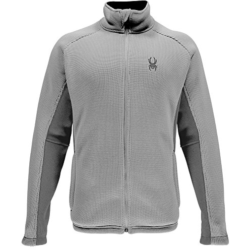 (Spyder Men's Foremost Full Zip Heavy Weight Core Sweater, Cirrus/Polar XX-Large)
