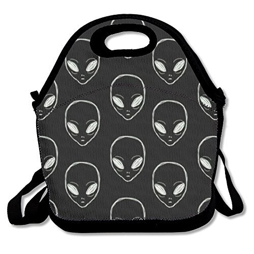 Alien Lunch Box - Alien Travel Picnic Lunch Bag Lunchboxes Outdoor Lunch Box Bag Lunch Tote Handbag Convenience For Out