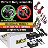 MPC Complete 1-Button Remote Start Kit for 2006-2010 Toyota Rav4 - Includes Bypass and (2) Extended Range Remotes
