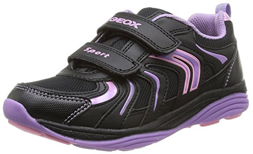 Geox Jr Emy - Zapatillas Negro