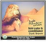 Light Mountain Dark Brown Henna 4 oz.