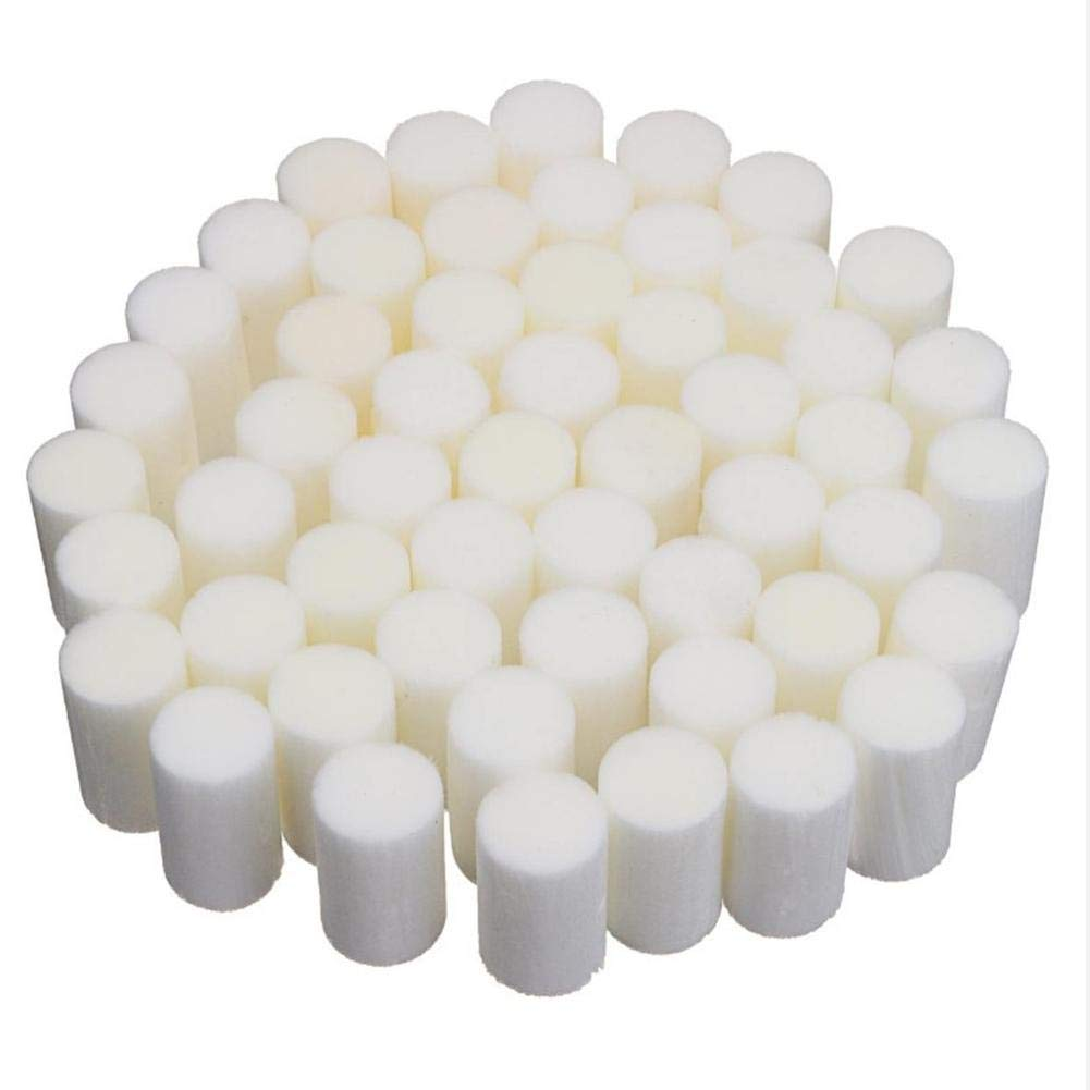 Swimming Pool Sand Replacement 50pcs 35 20mm White Fiber Cotton Filter High Pressure Pump Filter Replacement for Mayitr Air Compressor System by Covcow