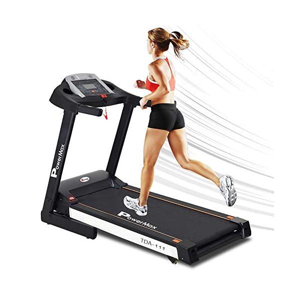PowerMax Fitness best motorized treadmill in India