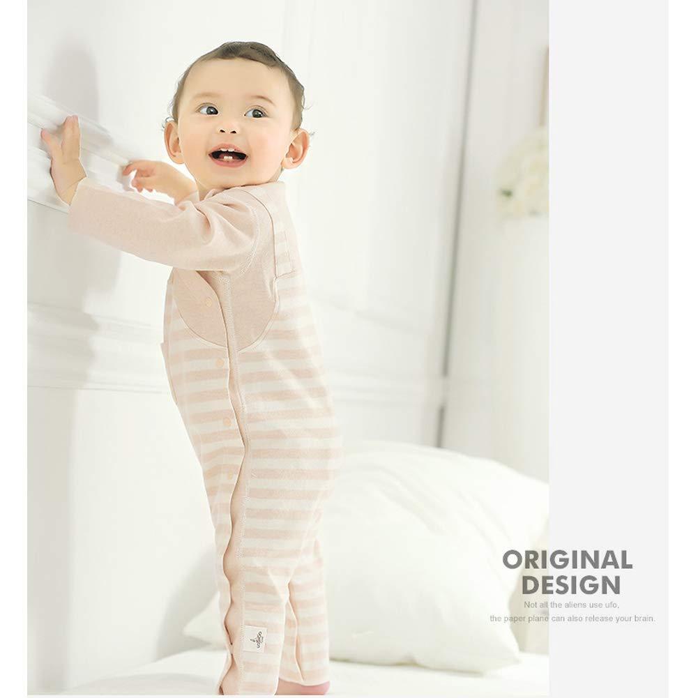 COBROO Newborn Baby Clothes Body Bodysuit Pants Set 0-12 Months Cat Pattern Baby Sleepwear