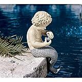 Cheap Design Toscano The Ocean's Little Treasures Mermaid Statue