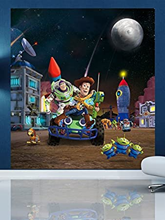 Toy Story Wall Mural 180 x 202 cm Amazoncouk Toys Games