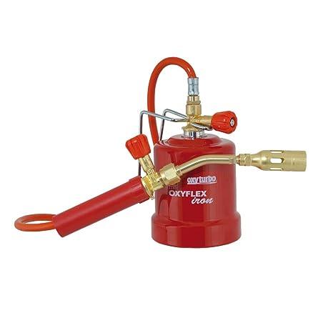 Kit soldador Mobile profesional Soplete Gas Butano Art.524000 oxyflex Iron