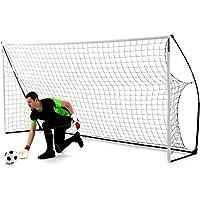 QUICKPLAY Kickster Academy Tragbares 4,8 x 2,1m Fußballtor