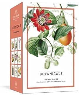 botanicals 100 postcards from the archives of the new york botanical garden