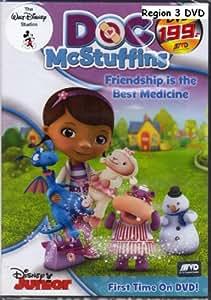 Doc McStuffins:Friendship Is The Best Medicine - Region 3 DVD Language:English,Mandarin,Korean,Spanish,Portuguese
