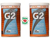 Image of Gatorade G2 Glacier Freeze Sports Drink Powder, 4.2 Ounce (Pack of 2) +