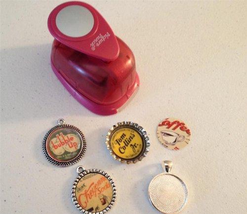 bottle cap pendants - 8