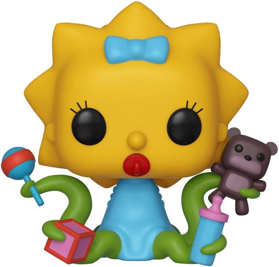 Funko- Pop Figura De Vinil: Animation: Simpsons-Maggie Coleccionable, Multicolor (39727)