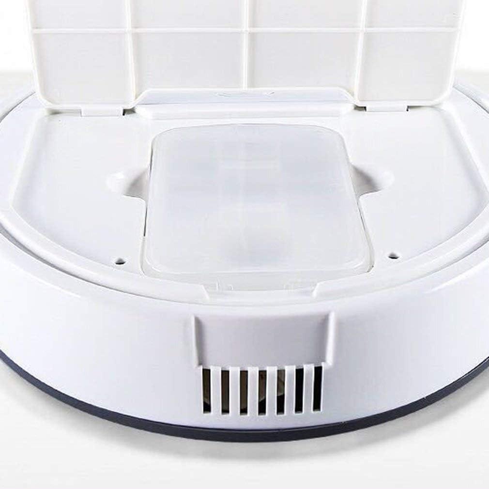 LSXLSD Aspirateur Robot Intelligent Nettoyage Automatique Microfibre Mop Sol Sweeper Balayer Robot Aspirateur Charge (Color : White) White