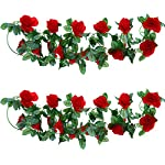 Well-Love-Artificial-Flower-Rose-Vine-Garland-8FTPiece-for-Home-Kitchen-Wedding-Party-Garden-Festival-Office-Outdoor-Hanging-Arch-DIY-Craft-Art-Decor-Gift-Set