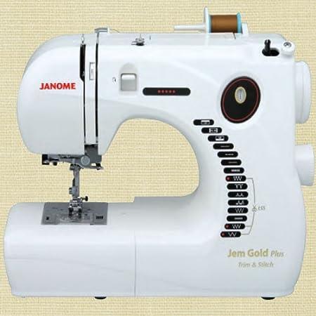 Opinión sobre Janome Jem Gold Plus Máquina de coser para recortar y puntar