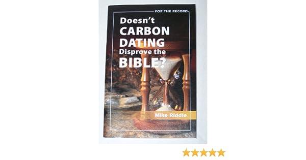 Carbon dating disprove