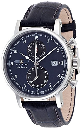 ZEPPELIN watch Norudosutan navy dial 75783 Men's [regular imported goods]