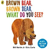 Brown Bear, Brown Bear, What Do You See?: A lift-the-flap board book