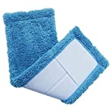 4 pc/lot Thicken Microfibre coral velvet wooden floors flat mops replacement pad refill mop head,mops floor cleaning pad