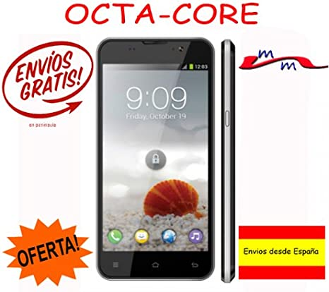 Teléfono movil libre ZOPO ZP980 + 1GB RAM 16GB ROM Octa Core 5