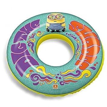 Flotador / Anillo flotante Minions / Minion Fiesta Flower Power aprox. 50 cm: Amazon.es: Juguetes y juegos