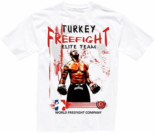 Türkei FREEFIGHT - MMA - Muay Thai Boxen - T-Shirt - 001