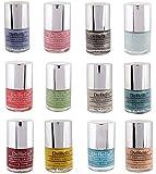 DeBelle nail polish combo 7, 9,12 & 15