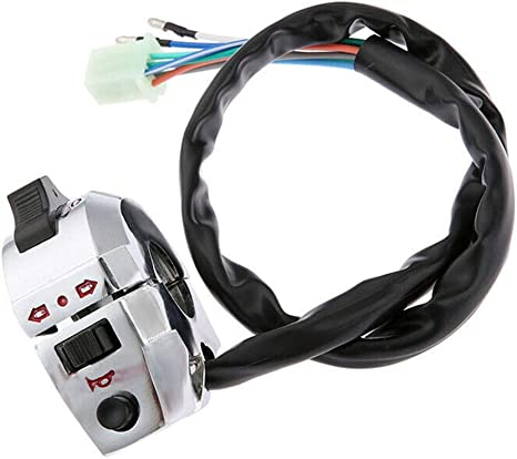 Pair Of 7//8/'/'Motorcycle Handlebar Horn Turn Signal Light Control Switch Top Sale