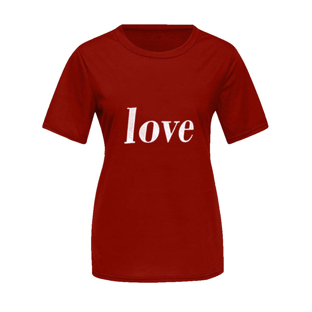 ♞Deadness Summer Mommy and Me T-Shirt Family Matching Outfits Clothes Love Letter Print Tops