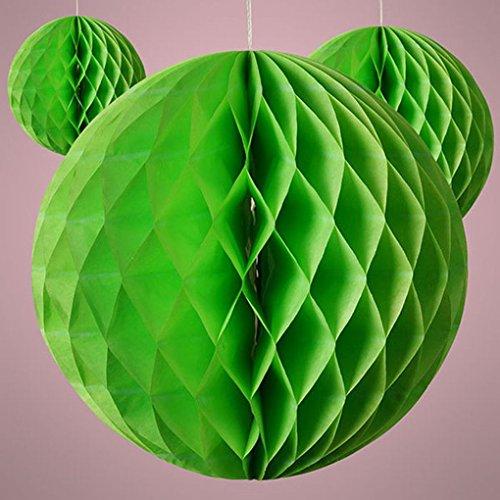 [Mememall Fashion Paper Tissue Lanterns Honeycomb Ball Wedding Party Home Hanging Decoration Lot] (Honey Monster Costume Xl)