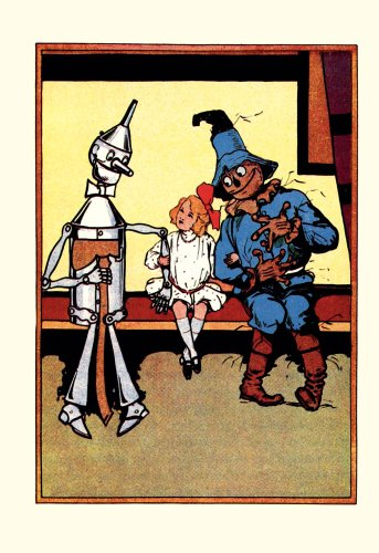 (ArtsyCanvas Wizard of Oz - Tin Man, Dorothy and Scarecrow 32