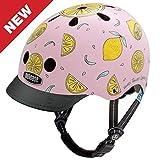 Cheap Nutcase Little Nutty Bike Helmet for Kids,Pink Lemonade,X-Small