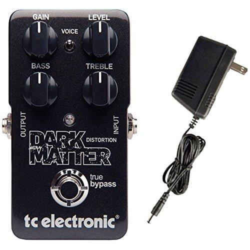 TC Electronic Dark Matter Distortion Guitar Effects Pedal Bundle 960720001