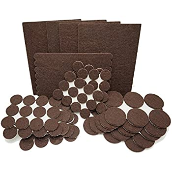 Alltough Heavy Duty Self Adhesive Felt Furniture Pads For