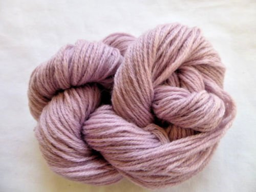 Dk Weight Sock Yarn - Mauve Pink Cashmere Blend Fingering Weight Crochet / Sock Knitting Yarn