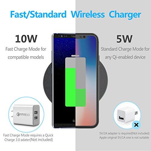 good GETIHU Wireless Fast Charger QC2 0/3 0 Qi Phone Charging Pad