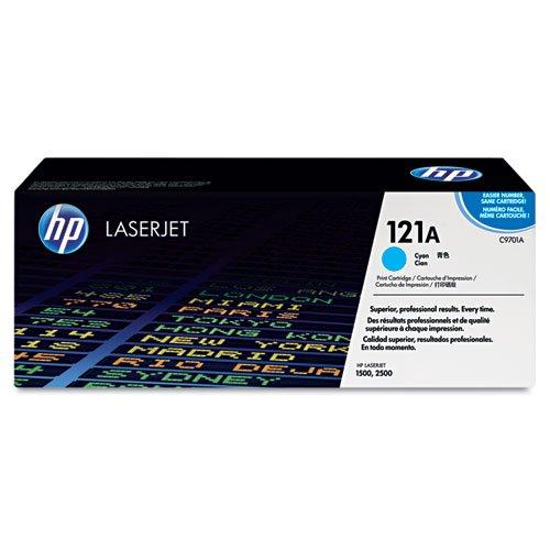 HP - HP 121A, (C9701A) Cyan Original LaserJet Toner Cartridge C9701A (DMi EA -