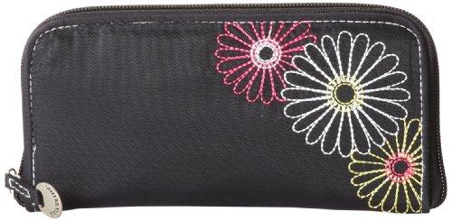 Travelon Safe Id Daisy Ladies Wallet, Black, One Size
