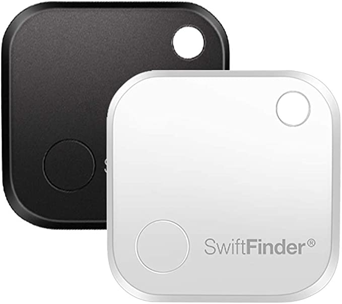 SwiftFinder Key Finder Locator Phone Finder Item Locator Key Locator Bluetooth Smart Tracker for Key//Phone//Wallets//Purse//Luggage//Backpack//Laptop//Camera//Umbrella with APP Control ST04 Orange