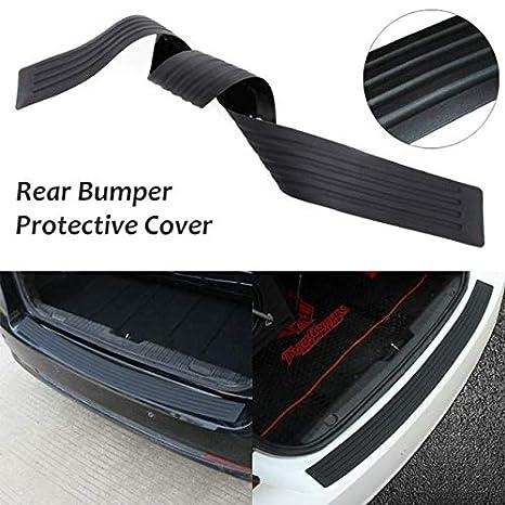 Autotrends Universal Car Trunk Rear Bumper Guard Sill Plate Trunk