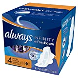 Always Infinity Maxi Pads With Avec FlexFoam