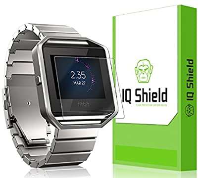 Fitbit Blaze Screen Protector, IQ Shield® LiQuidSkin (6-Pack) Full Coverage Screen Protector for Fitbit Blaze HD Clear Anti-Bubble Film - with Lifetime Warranty