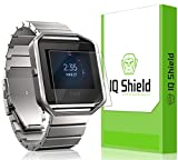 Fitbit Blaze Screen Protector, IQ Shield LiQuidSkin (6-Pack) Full Coverage Screen Protector for Fitbit Blaze HD Clear Anti-Bubble Film - with