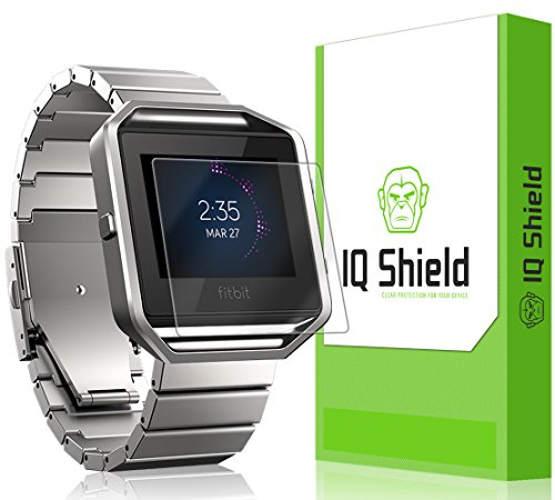 Fitbit Blaze Screen Protector, IQ Shield¨ LiQuidSkin (6-Pack) Full Coverage Screen Protector for Fitbit Blaze