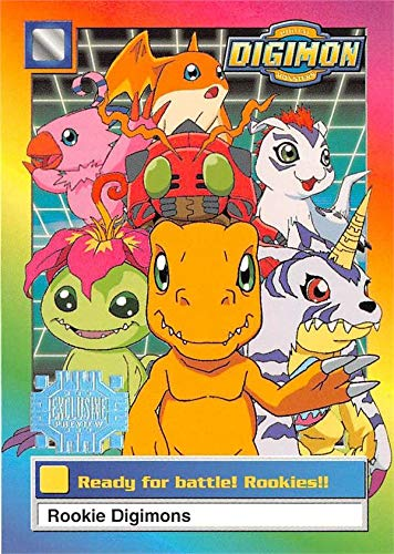 Rookie Digimon trading card 1999 Upper Deck #2